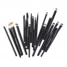 20Pcs Cosmetic Tools Powder Foundation Eyeliner Lip Pro Makeup Brushes          PMU5