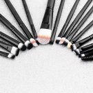 20 Pcs Makeup Set Powder Foundation Eyeshadow Eyeliner Lip Cosmetic Brushes        PMU5