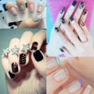30 Pcs Mixed Colors Rolls Striping Tape Line Nail Art Tips Decoration Sticker          PMU5