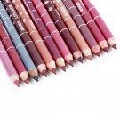 12 PCS Professional Lipliner Waterproof Lip Liner Pencil 15CM       GGT6