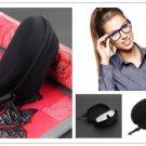 Zipper Clam Shell Hard Case Box Pouch Bag Eye Glasses Sunglasses               AS4