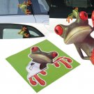 3D Cute Peep frog funny car stickers Truck Window Vinyl Decal Graphics Sticker          HH6