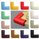 4Pcs Child Corner Edge Protectors Lovely Soft Safety Protection Cushion Guard COLOR BEIGE