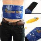 Slimming Exercise Waist Sweat Belt Wrap Fat Cellulite Burner Fitness EU Plug          JY5