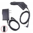2A Car Charger + AC/DC Wall Power Adapter Cord for PIPO Max M9 Pro 3G Tablet PC        SA3