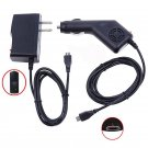 2A DC Car Charger +AC Wall Power Adapter For Verizon Ellipsis TM 7 4G LTE Tablet   NB9