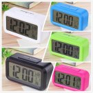 Led Digital Electronic Alarm Clock Backlight Time With Calendar+Thermometer      VW1