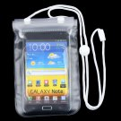 Waterproof Dry Pouch Bag Case Cover For Cellphone Samsung S3 S4 S5 Note 2 3      VW1