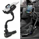 2 USB Car Cigarette Lighter Mount Holder Charger For Samsung Galaxy S3 S4     VW1