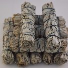 "California White Sage Smudge Incense 4""- 4 1/2"" Bundle (10 pcs)    VW1"