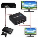 1080p HDMI to 2 Female 1 In 2 Out Splitter Amplifier Repeater Switcher Box Hub      V1