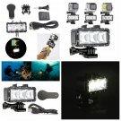 300LM 30m Underwater LED Dive Light For GoPro 3 3+ 4 Session Xiaomi YI Camera         VW2