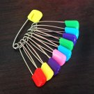 15Pc Safety Locking Baby Cloth Nappy Diaper Craft Pins      VW2