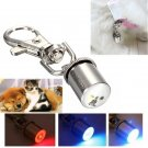 Pet Dog Cat Flashing LED Pendant Light Blinker Safety Night Collar Tag     VW2