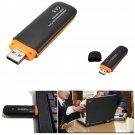 HSDPA USB 7.2Mbps SIM Wireless 3G Dongle + TF Card Adapter Reader    VW2