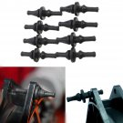 8Pcs Silicone Rubber Cooling Fan Screws Mount Anti-Vibration For Cooling PC Case    VW2