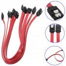 5Pcs 40cm Serial ATA SATA 3 RAID Data HDD Hard Drive Disk Straight Signal Cables      VW2