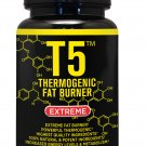 T5 FAT BURNER 100% PURE STRONGEST LEGAL SLIMMING DIET PILLS WEIGHT LOSS CAPSULES    RT5