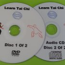 Learn Tai Chi Beginners Relaxation DVD Exercise Health Fitness & Free Audio CD       HG5