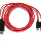 1080P USB MHL to HDMI HDTV Adapter Cable for Huawei Ascend D2, Ascend D Quad, P1      JY1