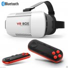 VR BOX Virtual Reality 3D Glasses Bluetooth Remote Control For Smartphone Black  BG5