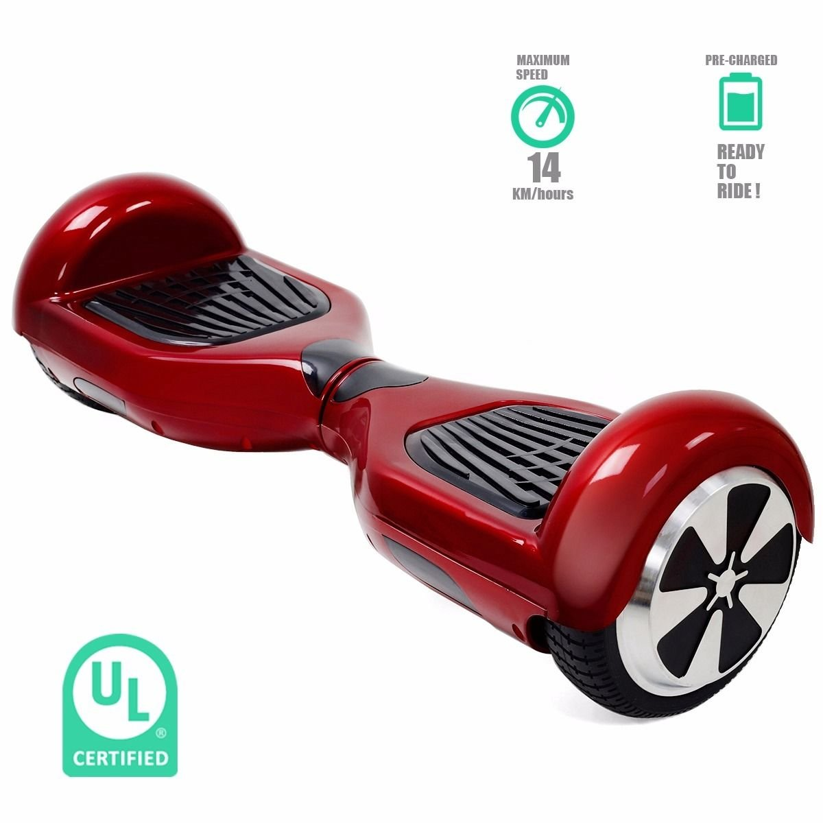 uL listed Balancing Wheel Electric Self balance Scooter Hover skateboard new