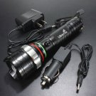 2000LM UltraFire CREE XML T6 LED Rechargeable Flashlight Torch AC+ Car Charger