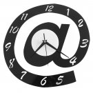 Artistical Wall Clock Arabic Numerals Novel Logo Shaped Home Decor