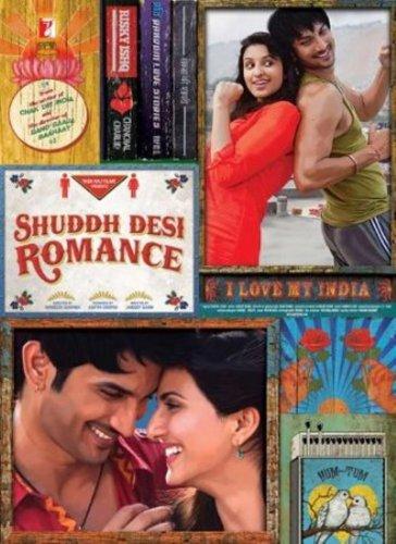 Shuddh Desi Romance (2013)- Indian Hindi Bollywood movie Blu Ray