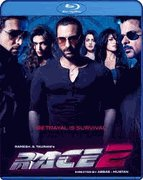 Race 2- Indian Hindi Bollywood Movie Blu Ray Disc