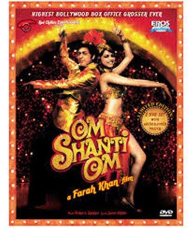 OM SHANTI OM - Indian Hindi Movie DVD