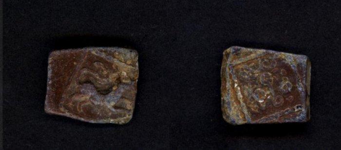 Ancient Satvahan Dynasty from Junnar Lion 200 A.D.