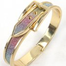 Belt Buckle Design Bangle Bracelet