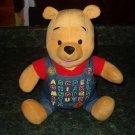 Winnie the Pooh Alphabet Plush