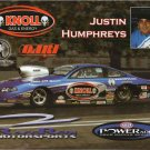 2007 NHRA PS Handout Justin Humphreys (Knoll Gas)