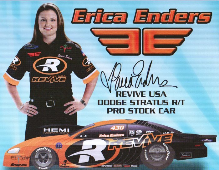 2006 PS Autographed Handout Erica Enders wm