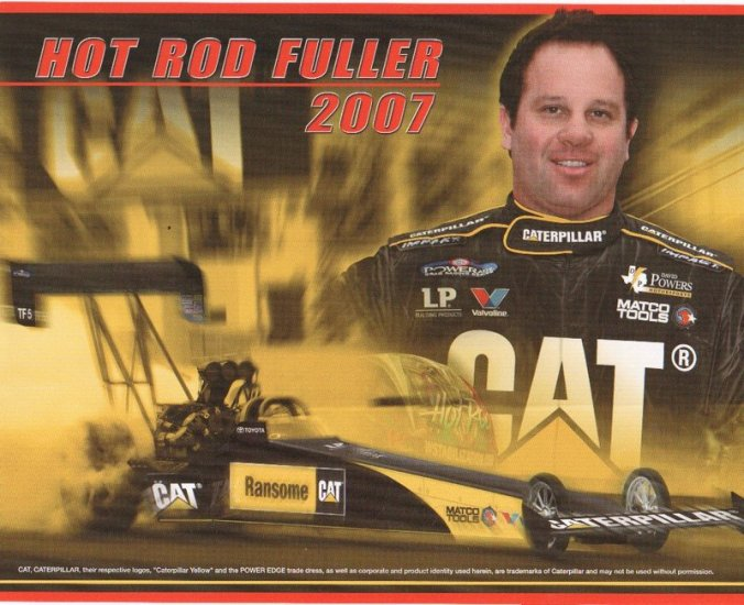 27 different 2007 NHRA handouts from Maple Grove