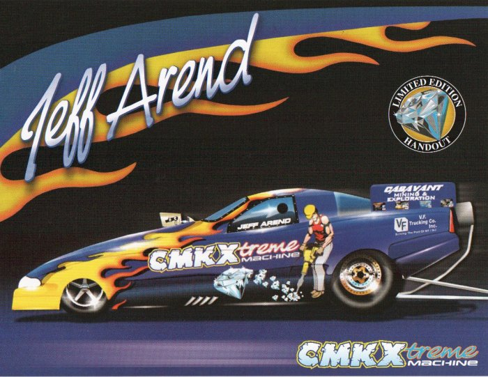 2005 NHRA FC Handout Jeff Arend (version #2)