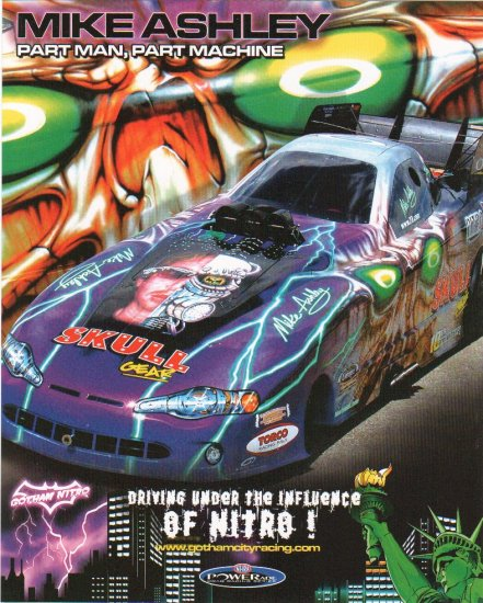 2005 NHRA FC Handout Mike Ashley