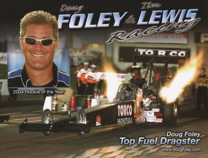 2005 NHRA TF Handout Doug Foley (version #2)
