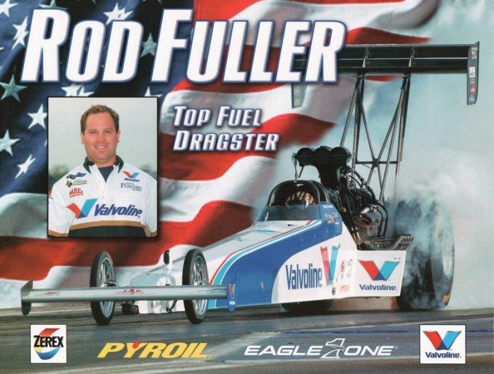 2005 NHRA TF Handout Hot Rod Fuller (version #1)