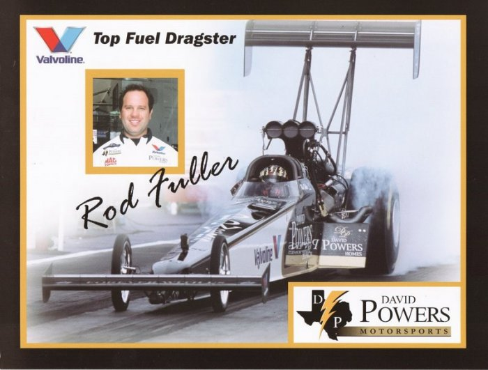 2005 NHRA TF Handout Hot Rod Fuller (version #3)