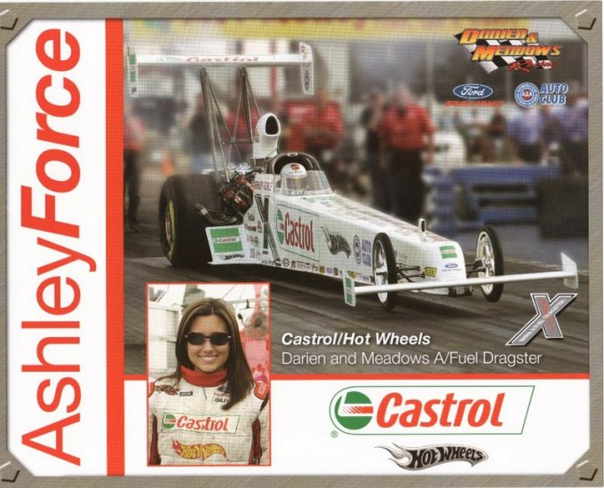 2005 NHRA TAD Handout Ashley Force (version #1)