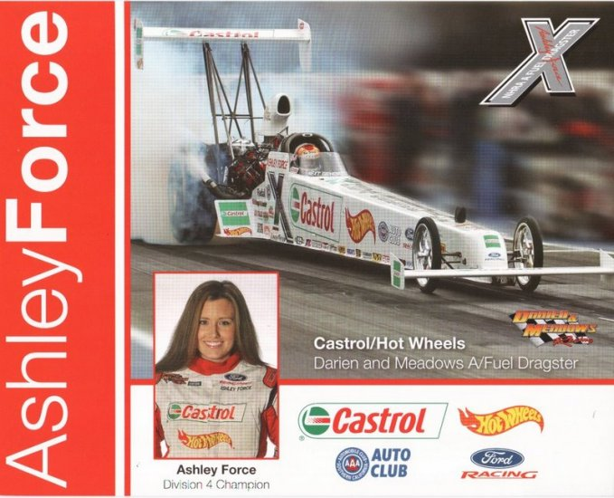 2005 NHRA TAD Handout Ashley Force (version #2)