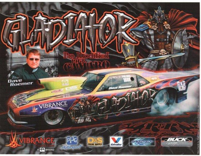 2005 NHRA IHRA PM Handout Dave Roemer