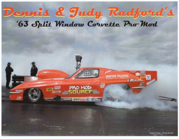 2005 NHRA PM Handout Dennis Radford