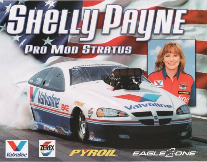 2005 NHRA PM Handout Shelly Payne wm
