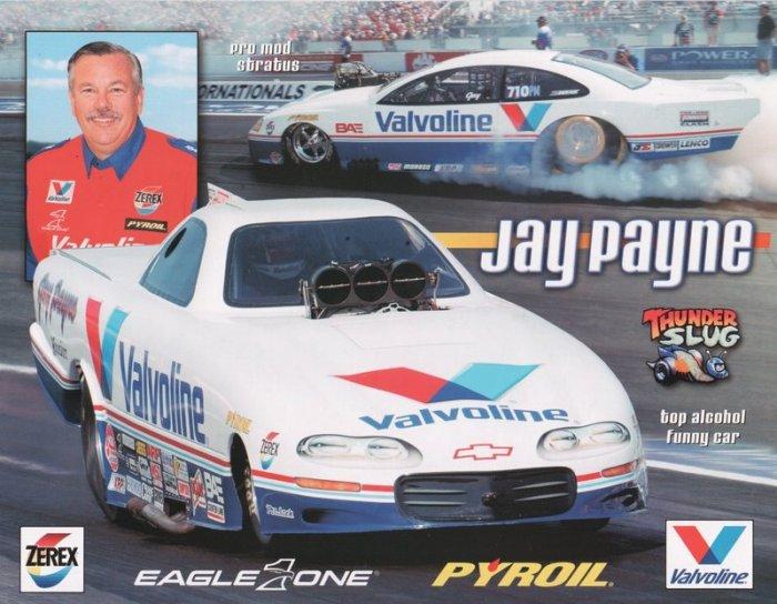 2005 NHRA PM Handout Jay Payne