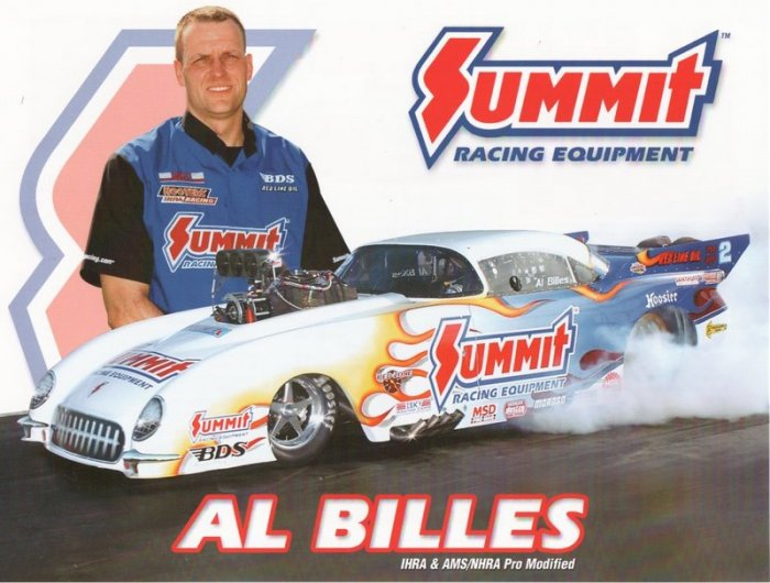 2005 NHRA PM Handout Al Billies