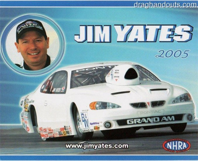 2005 NHRA PS Handout Jim Yates